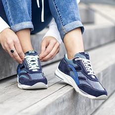 Women's Tour Mesh LT Lace Up Sneaker
